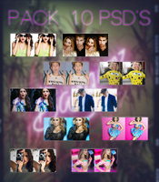 Pack 10 PSDs by CattaHappySmile