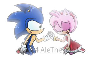 Sonamy - Cheer up, your smile is all what I need by AleTheDog1