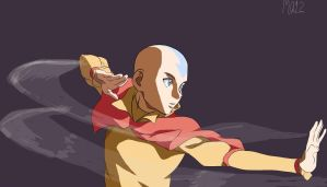 Avatar Aang by Ikuzram021