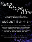 keep hope alive poster. by theresambraun