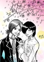 Tatsuya and Jun by Autumn-Sacura