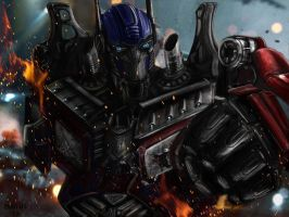 Optimus Prime Final by mady182