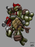 Out of Darkness-Mikey by scribblesartist