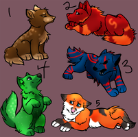 Wolf Adopts batch 3 by Synge-Zinc