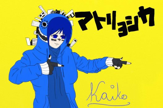 Kaiko Matryoshka (no shading) by klaudia120899