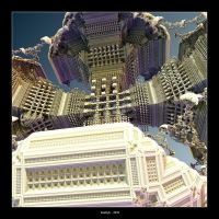 Another World IX . Arcology by Kaeltyk