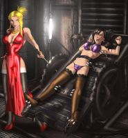 Tifa and Scarlet by erikson1