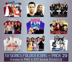 TV Series - Icon Pack 29 by apollojr