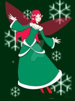 Holiday Faery 2011 by RedVioletPanda