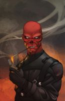FDF Red Skull by Alex0wens