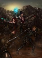 Dragon Age Origins by belldandy105