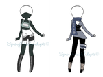 Naruto Outfit Adopts 11 (CLOSE) by SpringPeachAdopts