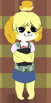Kawaii Isabelle by Scarcite