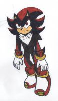 Shadow the Hedgehog by XADarkAngelOfDeathX