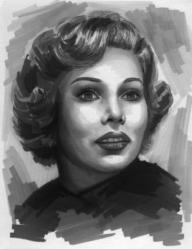 Zsa Zsa Gabor by tainted-orchid