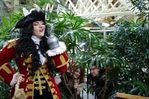 Steampunk Worlds Fair 2014: Hook inspired by LadyduLac