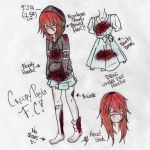 Creepypasta OC -Nez- .:Reference Sheet RENOVADA:. by MadPan-Inc