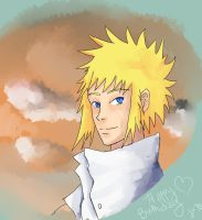 Happy Birthday Minato! by Ladywiththeface