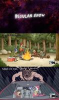 Regular Show- Camping by DancetilDawn7