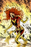 Dark Phoenix by Mamecucu