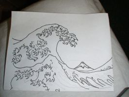 my altered Waves Off Kanagawa by dirty-jerz