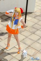 Sailor Venus Cosplay by Angel--Arwen