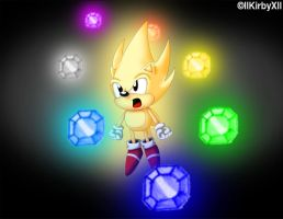 I COULD GO SUPER SONIC by llKirbyXll