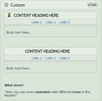 Content-holder with SUB-LINKS1 by CypherVisor