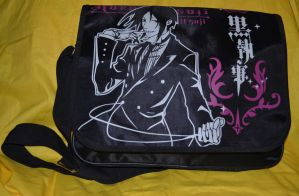 Black Butler Messenger Bag by kikyo4ever