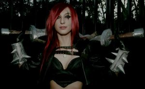 katarina league of legends cosplay by lauraurquinaona