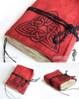 Notebook with celtic knot by bt-v