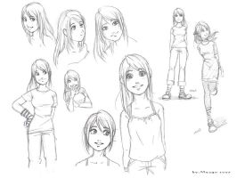 Mina random sketches by meago