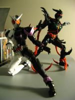 S.H.F Exceed Gills and Fang Joker 01 by RiderB0y