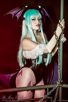 Morrigan Cosplay : Chains Of Love by plu-moon