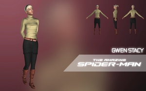 Gwen Stacy (The Amazing Spider-Man) by LEMOnz07