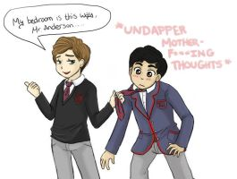 Klaine - Undapper Thoughts by Geminico