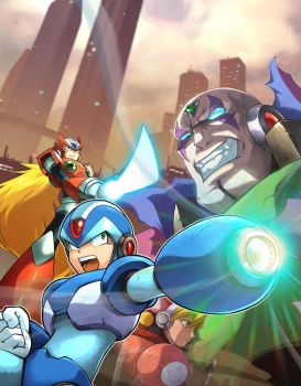 Mega Man X Collection by UdonCrew