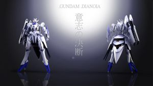 Gundam Dianoia by masarebelth