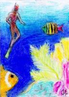 Sketch Card: Island Dreams - 4 by JasonShoemaker