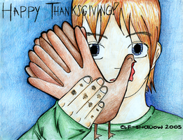 Happy Thanksgiving by elf-shadow