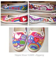 Hippie Shoes by ZiggaLig