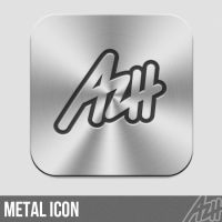 Metal Icon by azhvectorproject