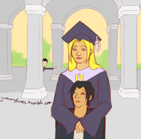 (Young Justice) Graduation by LunarFireFox
