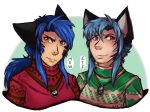 Mew and Kie Holiday Time by vampirekitty3