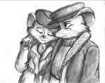 Bernard and Bianca - Here My Dear by TheLivingShadow