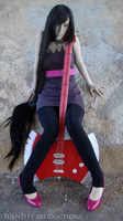 WIP Marceline Cosplay 4 by Fennec777