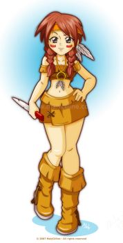 Tala the indian by Malycia