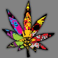 Juggalo Pot Leaf by insanityrains