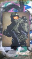 Master Chief (Test Spray) Commission by NeverenderDesign