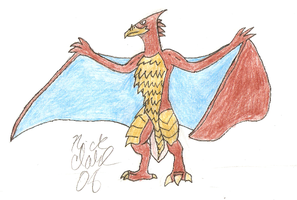 Rodan by SuperSaiyan4Godzilla
